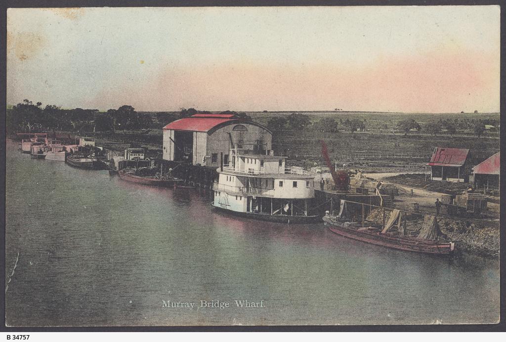 Wharf, Murray Bridge
