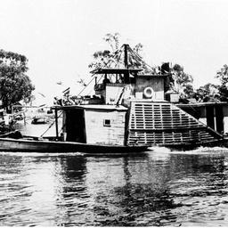 Paddle steamer 'Adelaide'