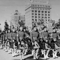 27th Battalion at Government House