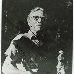 Portrait photographs taken of Harold Cazneaux