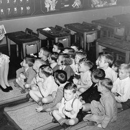 Gilles School Infants' School children