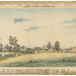 The site of Adelaide