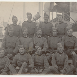 Photographs of the 1st S.A. Company during the Boer War