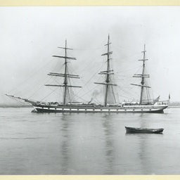 The 'Hesperus' at anchor