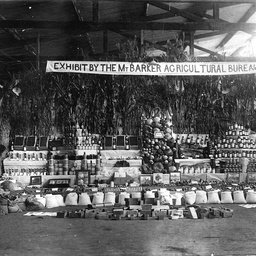 Display of agricultural produce