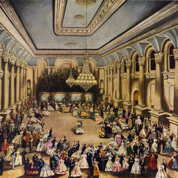 Opening Ball, Adelaide Town Hall. June 22, 1866.