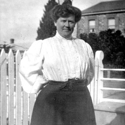 Informal view of Charlotte Mabel Searcy