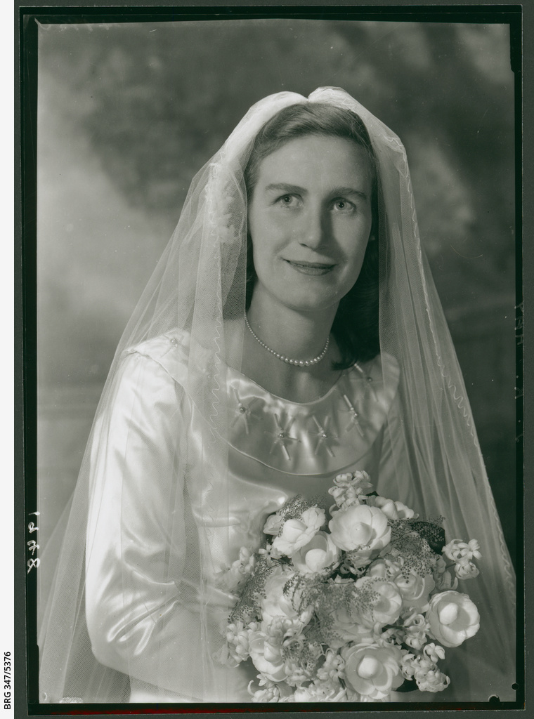 Miss B. T. Sutton on her wedding day