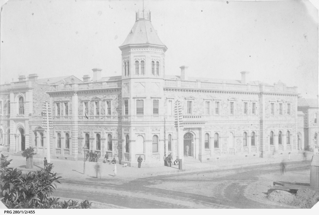 The Customs House at Port Adelaide
