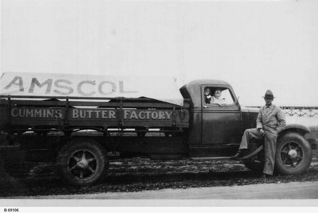 The Cummins Butter Factory truck
