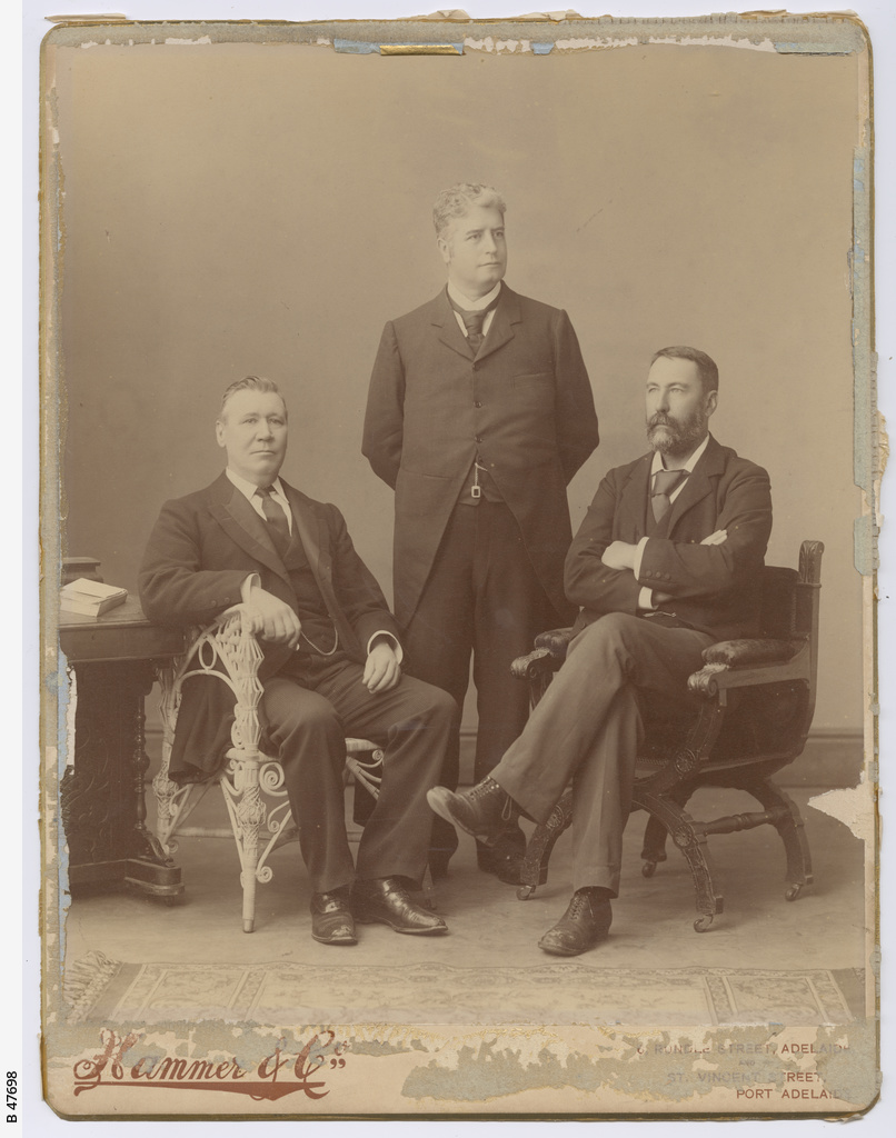 Sir John Downer, Edmund Barton and R. E. O'Connor