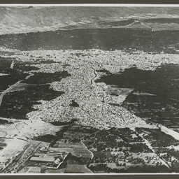 Aerial view of Damascus.