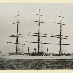 The 'Glenricht' in an unidentified harbour