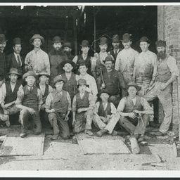 Apprentices at Moonta Mines