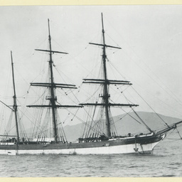 The 'Roscrana' in an unidentified harbour