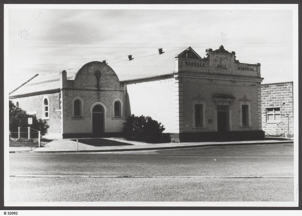 Memorial Hall, Warooka