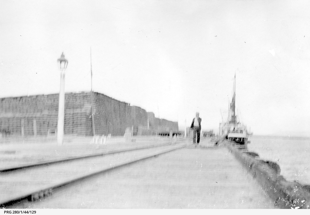 The wharf at Port Augusta