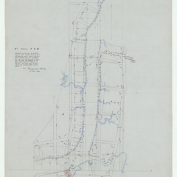 [Plan of sections 'A' and 'B' on Hindmarsh Reach, Port Adelaide] [cartographic material]