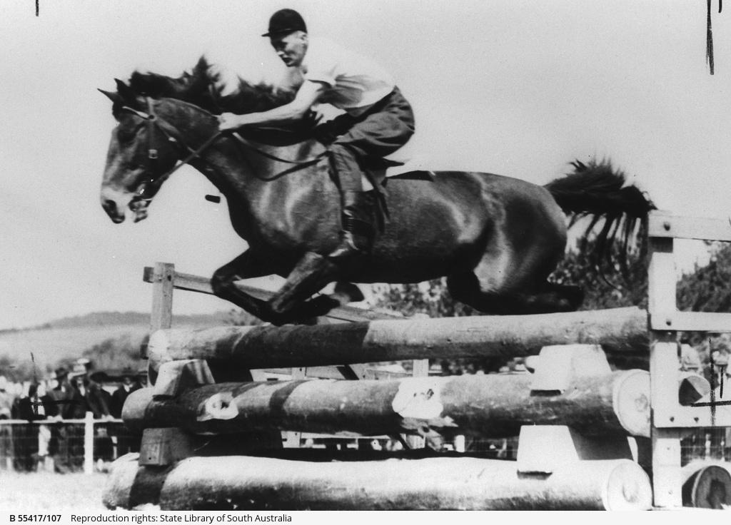 Jack Branson riding 'Invincible'