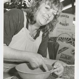 Elizabeth City centre copper triangle promotion. Wendy Jeffery-Hummel, Kadina. 22 July 1992.