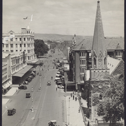 Intersection North Terrace and Pulteney Street