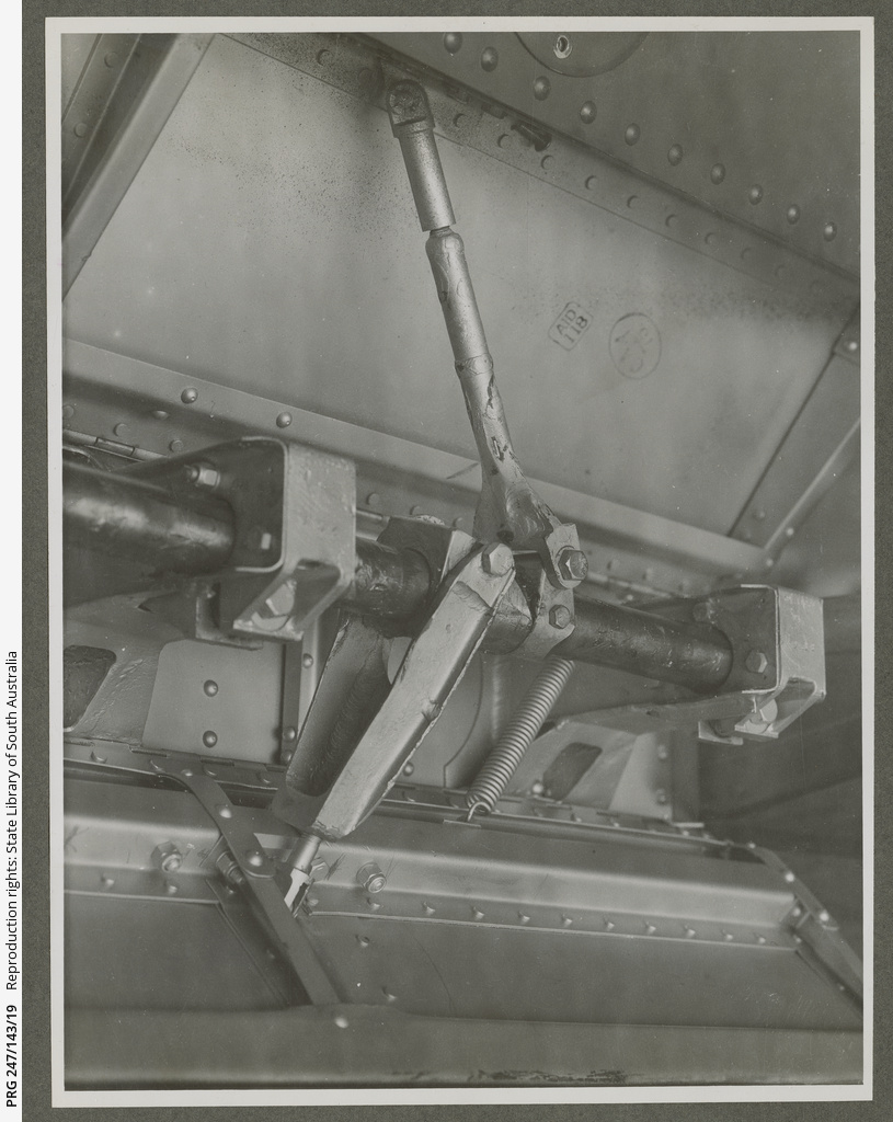 Internal section of a CAC aircraft.