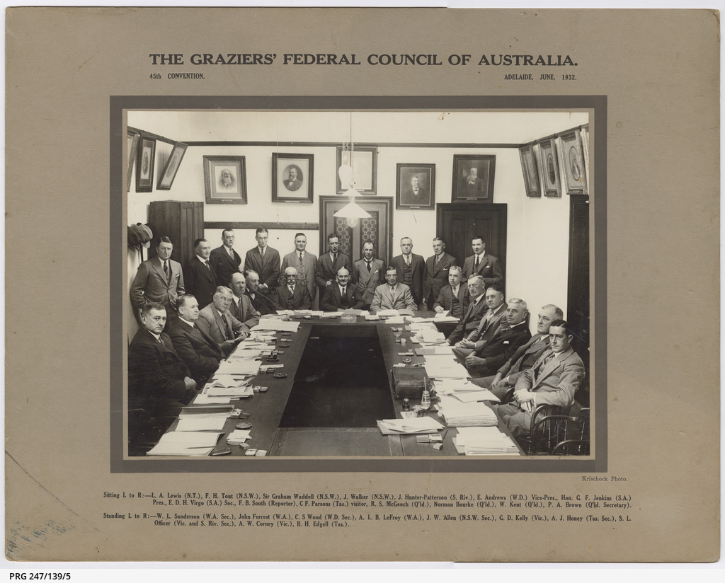 The Graziers' Federal Council of Australia