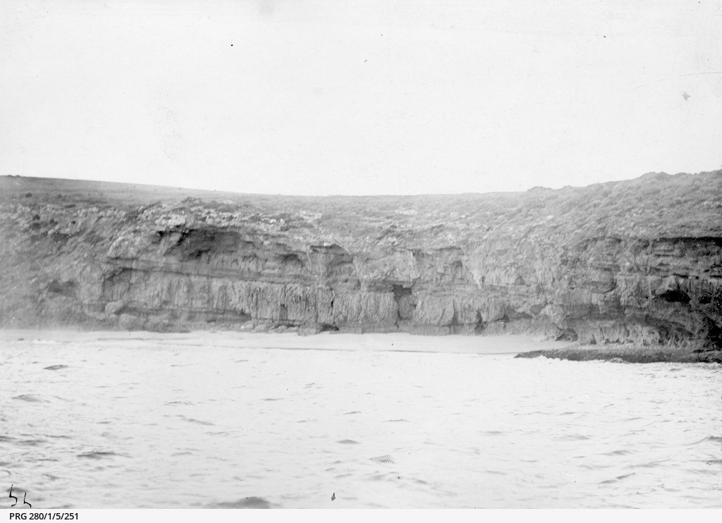 Part of Wedge Island viewed from the sea