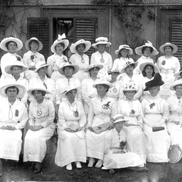 Women fund raising workers during World War I in Adelaide