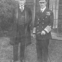 Sir Henry Galway with Lord Jellicoe