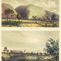 The Gorge at Yankallillah, and Arthur's Station