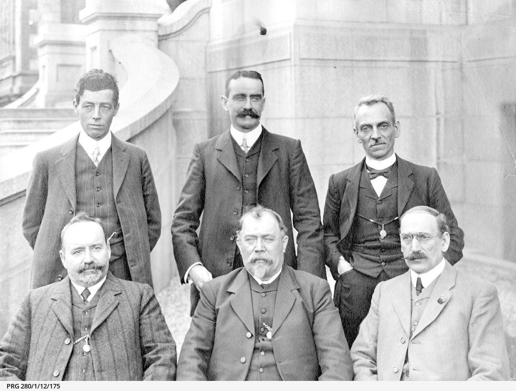 Politicians in the Verran Ministry