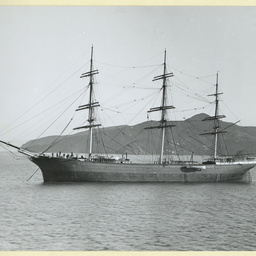 The 'Thirlmere' anchored