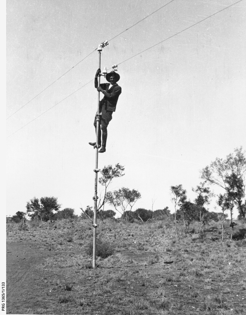 The overland telegraph line
