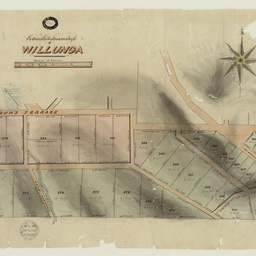 [Plan of] Extended Township of Willunga [cartographic material]