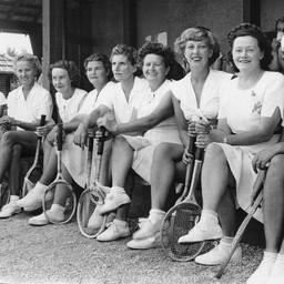 A tennis social at Toorak