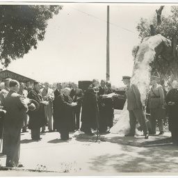 Proclamation Day ceremony 1944
