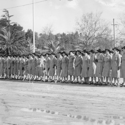 Members of the Transport Service at Parade Ground