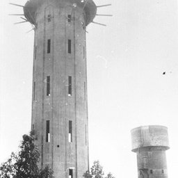 Water Tower under construction at Tailem Bend