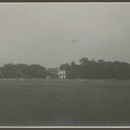Landing field at Calcutta.