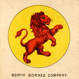 Emblem for the flag of the North Borneo Company