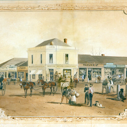 WORK 1849: The Beehive, corner King William and Rundle Streets, Adelaide thumbnail image