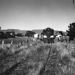 Last engine to be in the Willunga Railway Station yard
