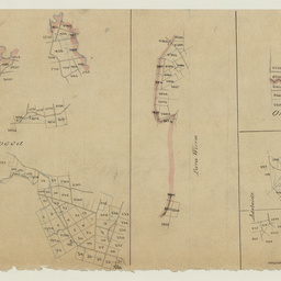 [Tracing showing sections in Hundreds of Barossa, Para Wirra, Talunga, Onkaparinga, and Adelaide(parts)] [cartographic material]