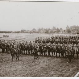 Light Horse regiment training