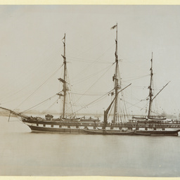 The 'Clarence' at Gravesend, U.K.