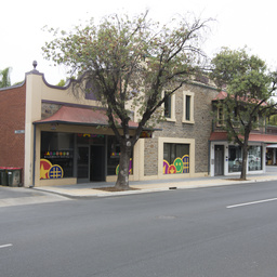 Shops on Gilles Street, Adelaide