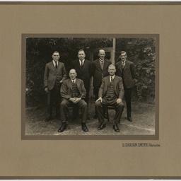 Group of distinguished men