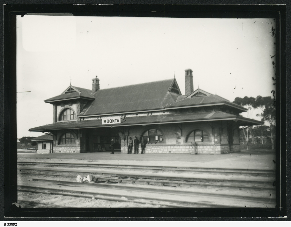 Railway Station, Moonta