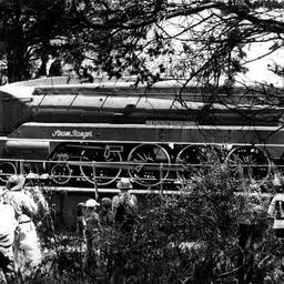 Steam Ranger on the Bridgewater turntable